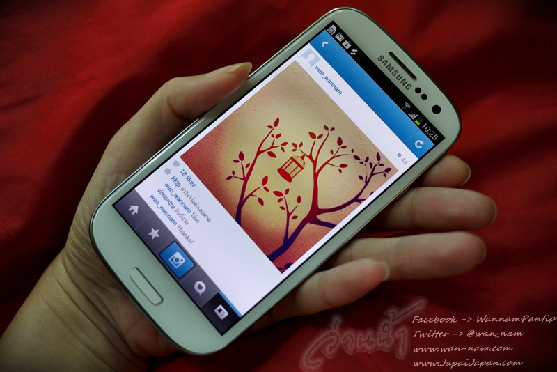 ลองของ – Samsung Galaxy S III.. Designed for Humans, Inspired by Nature